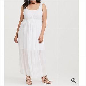 TORRID Chiffon Maxi Dress